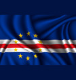 national flag silk vector image