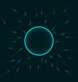 Natural insemination sperm fertilizing egg cell vector image