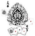 Spade Ace vector image