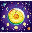 universe vector image