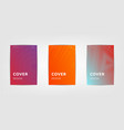 abstract covers design gradients set vector image
