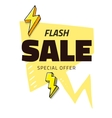 Best sale flash doodle speech bubble discount tag vector image