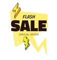 Best sale flash doodle speech bubble discount tag vector image vector image