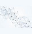 big data visualization background modern vector image