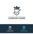 Company logo template vector image vector image