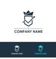 Company logo template vector image
