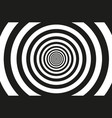 concentric circle pattern vector image