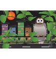 Night owls vector image vector image