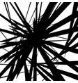 random artistic lines monochrome geometric modern vector image