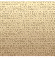 seamless scripture background vector image vector image