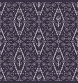 Tribal seamless pattern with rose