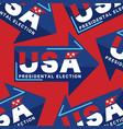 2020 united stated presidential election vote vector image vector image