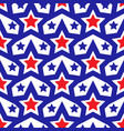 American flag seamless patterns independence