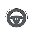 car drive wheel vector image vector image