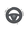 car drive wheel vector image