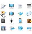 Communication channels icon se vector | Price: 3 Credits (USD $3)