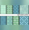 CurlyPattern 15 01 vector image vector image