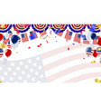 independence day 4th july happy independence day vector image vector image