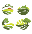 Lovely nature vector image