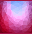 multicolor purple pink polygonal which consist vector image vector image