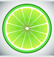 piece of lemon high quality vector image vector image