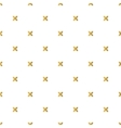 Christmas golden background seamless tiling vector image