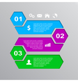 infographic template 8 vector image