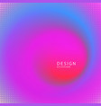 abstract blurred multicolored swirl radial vector image