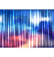 abstract colorful space light effect background vector image vector image
