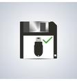 Icon successful write vector image vector image