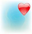 Love theme vector image