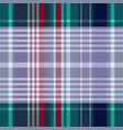 madras tartan plaid seamless pattern vector image vector image