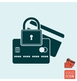 Secure icon isolated vector image