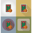 sport flat icons 62 vector image vector image