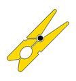 Clothes pin icon vector image