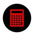 Calculator simple icon vector image vector image