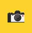 Camera retro vintage style flat design