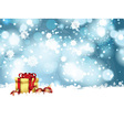 christmas gift background 0110 vector image vector image