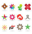 Contemporary Logo Collection vector image