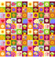 Flower shop pattern vector image vector image