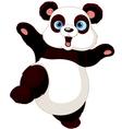 Kung fu Panda vector image vector image