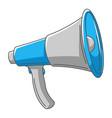 loudspeaker speaker or megaphone vector image