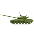 modern heavy tank vector image vector image