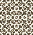 patterns seamless circles vector image vector image