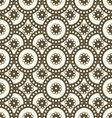 patterns seamless circles vector image vector image