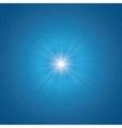shining star vector image vector image