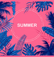 summer time poster wallpaper for fun party vector image vector image