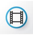 video icon symbol premium quality isolated film vector image vector image