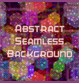 abstract seamless color background vector image vector image