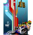 al 0420 motorcycle 01 vector image vector image